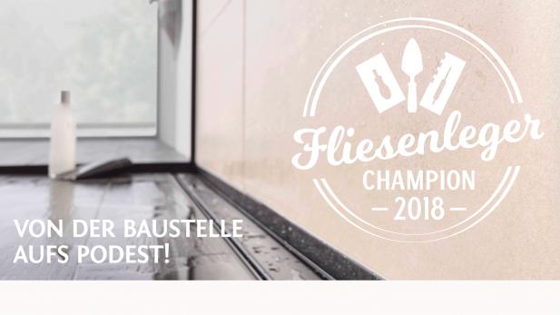 Fliesenleger champion 2018 sch nox - Stundenlohn fliesenleger 2018 ...